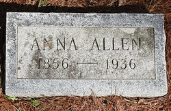 Anna <i>Doran</i> Allen