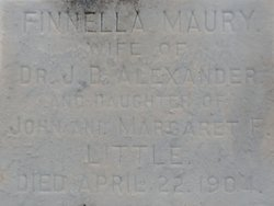 Finella Maury <i>Little</i> Alexander