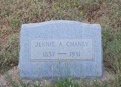 Jennie A <i>Madden</i> Chaney