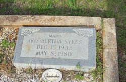 Iris Bertha <i>Covington</i> Sykes