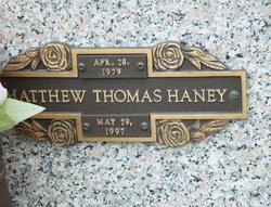 Matthew Thomas Haney