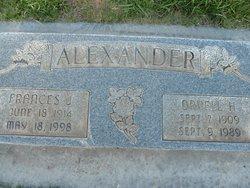 Orvell H Alexander