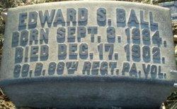 Pvt Edward S. Edwin Ball