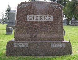 Caroline <i>Graef</i> Gierke