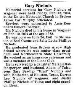Gary Phillips Nichols