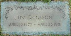 Ida Bell <i>Hatch</i> Erickson