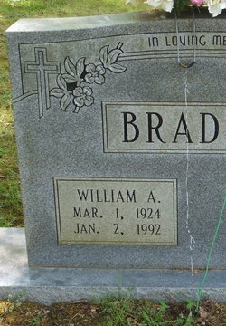 William A Bradley
