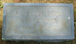 Harvey Criss Carroll