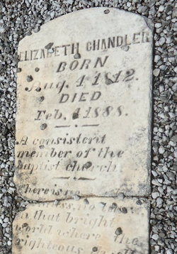 Elizabeth <i>Browning</i> Chandler