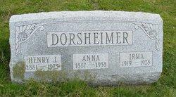 Henry J Dorsheimer