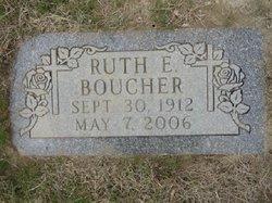 Ruth E. <i>Christiansen</i> Boucher