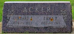 Emma H Acker