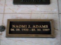 Naomi J. <i>Glick</i> Adams