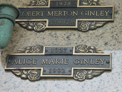 Alice Marie Ginley