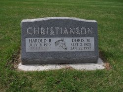 Doris Mae <i>Clayborn</i> Christianson