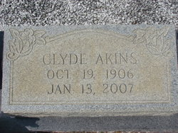 Clyde <i>Akins</i> Cannon