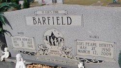 Lois Pearl <i>Horten</i> Barfield