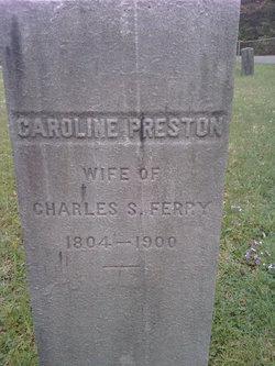 Caroline <i>Preston</i> Ferry