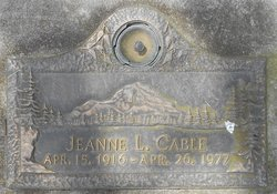 Jeanne L. Cable