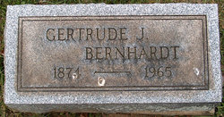 Gertrude J. <i>Ritter</i> Bernhardt