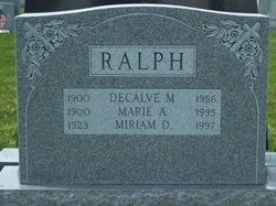 Decalve M. Ralph