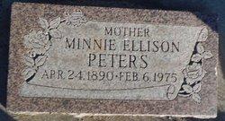 Minnie <i>Ellison</i> Peters