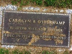 Carolyn <i>Bartholomew</i> Osterkamp