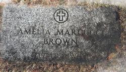 Amelia <i>Marcucci</i> Brown