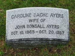 Caroline Armande <i>Bache</i> Ayers