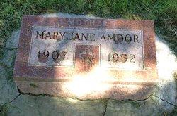 Mary Jane <i>Farrell</i> Amdor