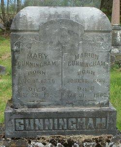 Mary <i>Porter</i> Cunningham