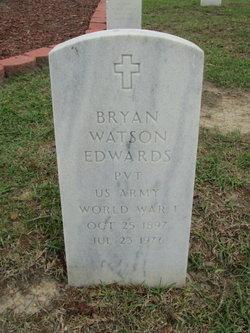 Pvt Bryan Watson Edwards