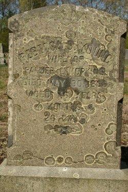 Rebecca S. <i>Young</i> Hopkins