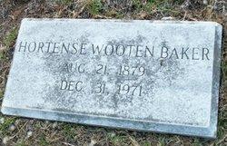 Hortense Caroline <i>Wooten</i> Baker