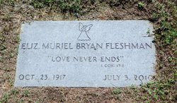 Elizabeth Fleshman Muriel <i>Bryan</i> Branscombe