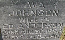 Ava T <i>Johnson</i> Anderson
