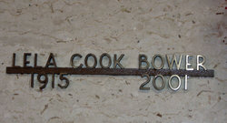 Lela <i>Cook</i> Bower
