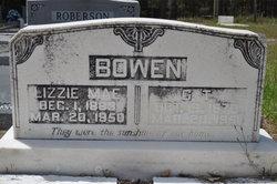 Lizzie Mae <i>Hulett</i> Bowen
