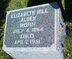 Elizabeth <i>Hill</i> Alden