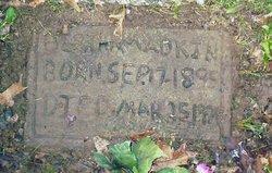 Bertha May <i>Bowden</i> Adkins