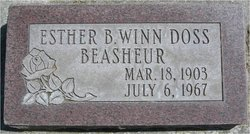Esther Bell <i>Winn</i> Beasheur