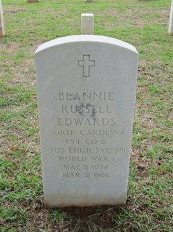 Blannie Russell Edwards