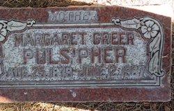 Margaret <i>Greer</i> Pulsipher