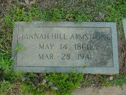 Hannah <i>Hill</i> Armstrong