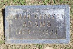 Susan Eugene <i>Garrett</i> Adams