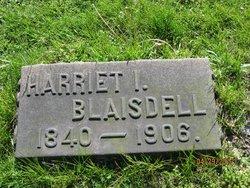 Mrs Harriet I. Blaisdell