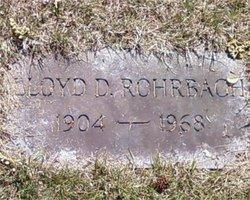 Lloyd Derr Rohrbach