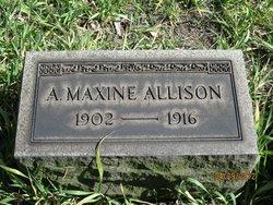 A. Maxine Allison