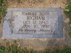 Carole Jean <i>Goforth</i> Bigham