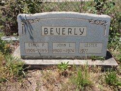John L Beverly